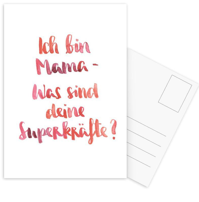 Mama 3 Postcard Set