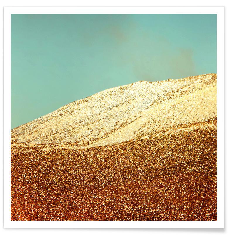 Golden Mountain Premium Poster