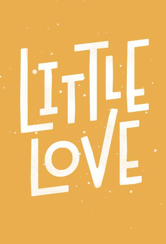 Little Love Acrylglasbild | Dekoration > Bilder und Rahmen > Bilder | Mehrfarbig | Aluminium