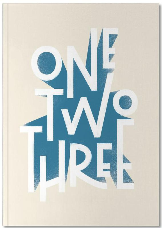 One Two Three Notebook