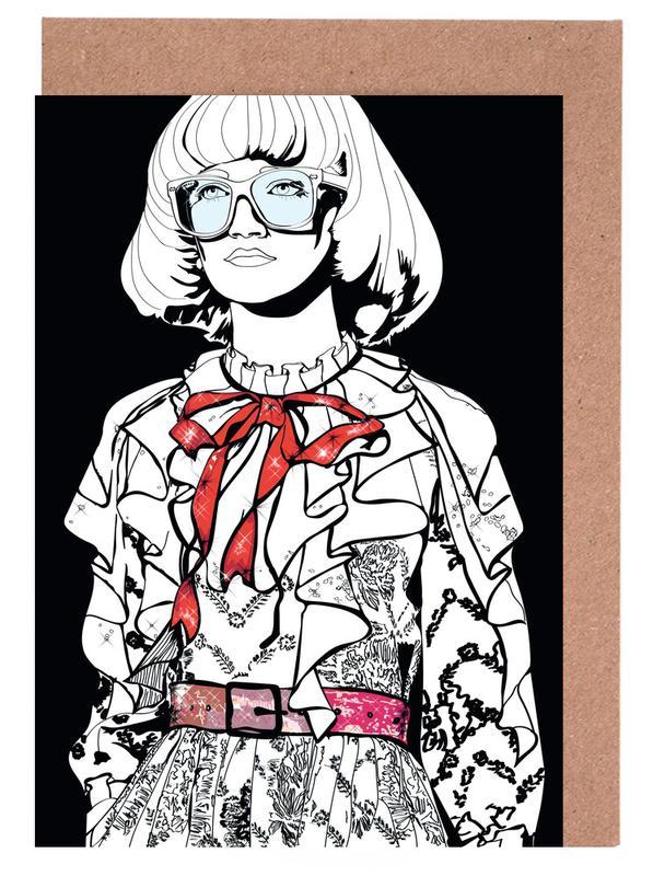 Just Fashion 1 -Grußkarten-Set