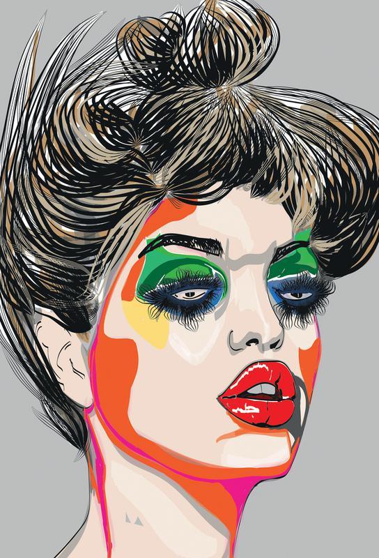 Colours Acrylglasbild | Dekoration > Bilder und Rahmen > Bilder | Mehrfarbig | Aluminium