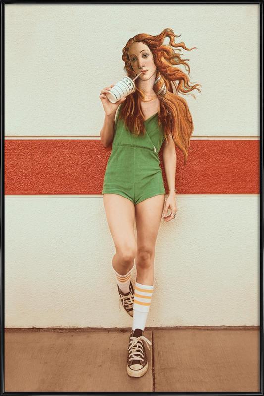 Venus Chillout ingelijste poster