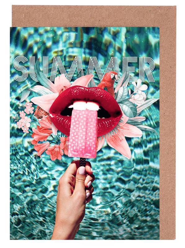 Summer Vibes Greeting Card Set