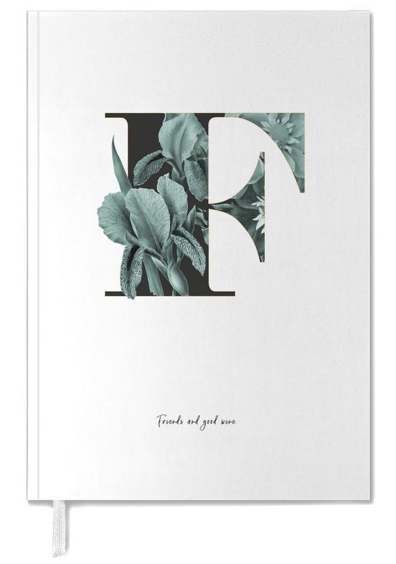 Flower Alphabet - F Personal Planner