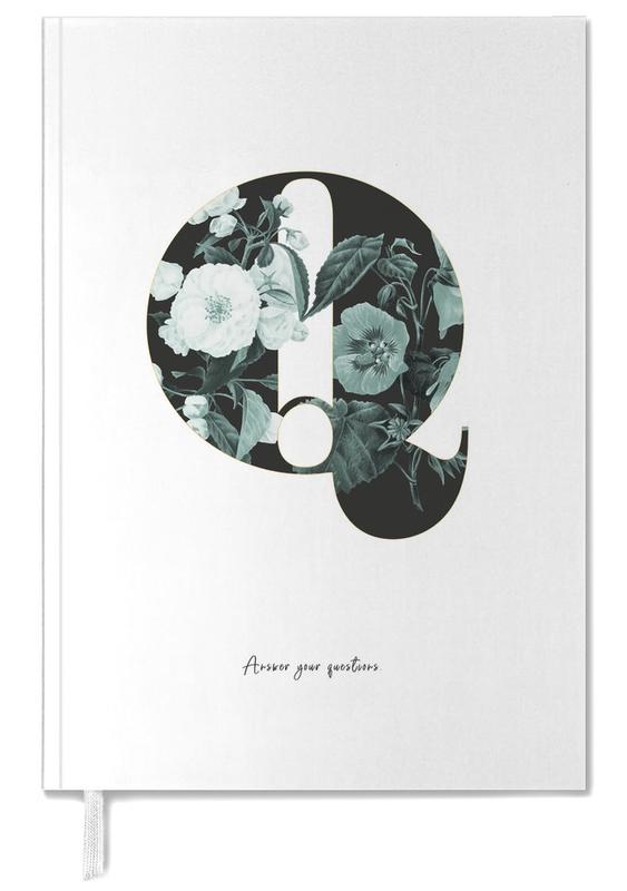 Flower Alphabet - Q Personal Planner