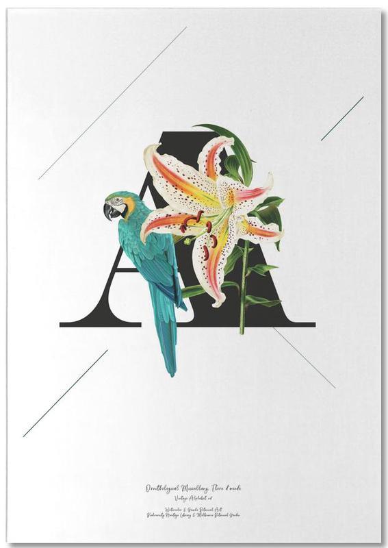 Botanical Alphabet - A bloc-notes