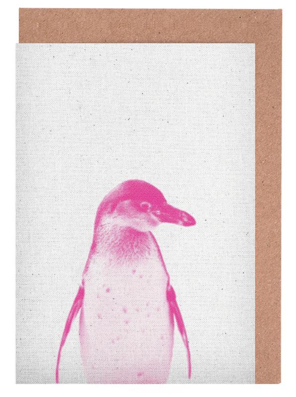 Pinguin 02 Grußkartenset