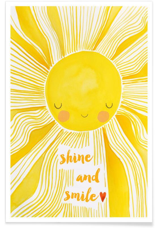 Shine and Smile Poster