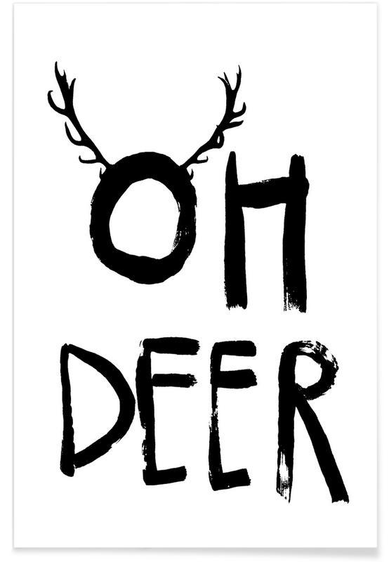 Oh Deer -Poster