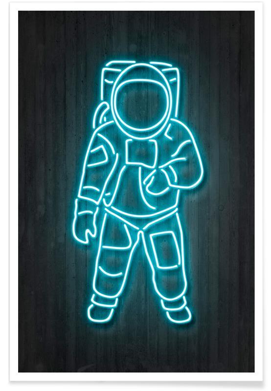 Astronaut -Poster