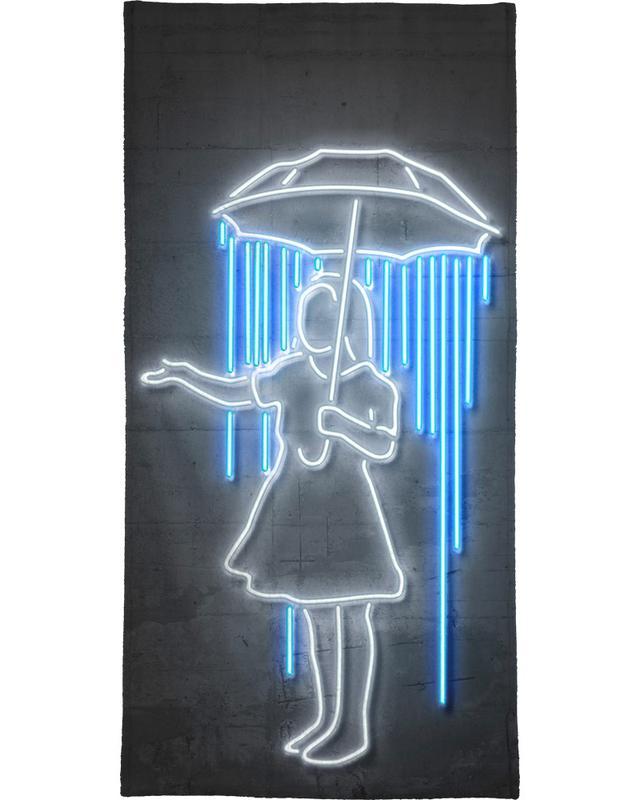 Umbrella Girl serviette de bain