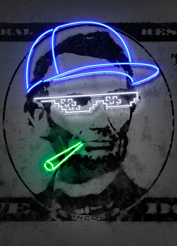 Lincoln Leinwandbild