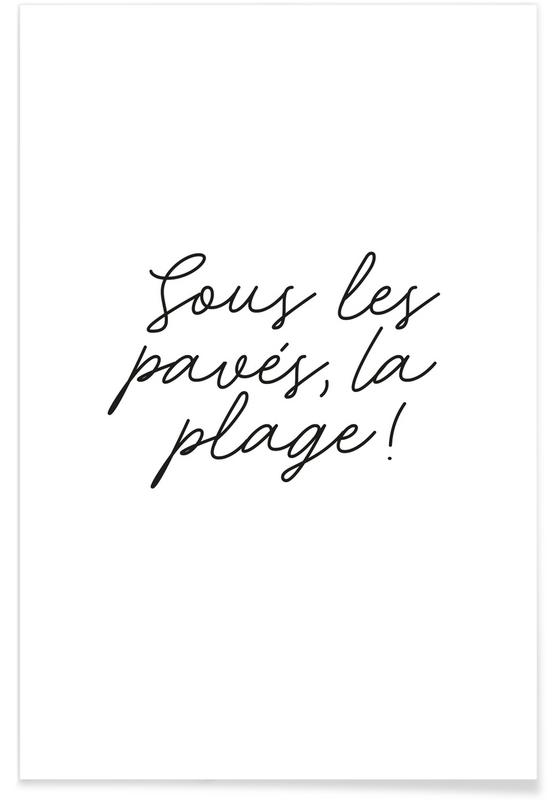 La Plage poster