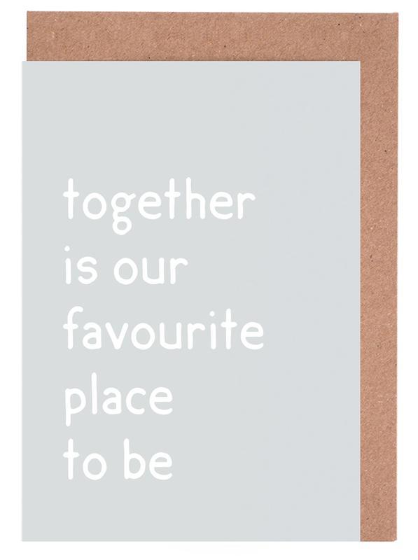 Together Greeting Card Set