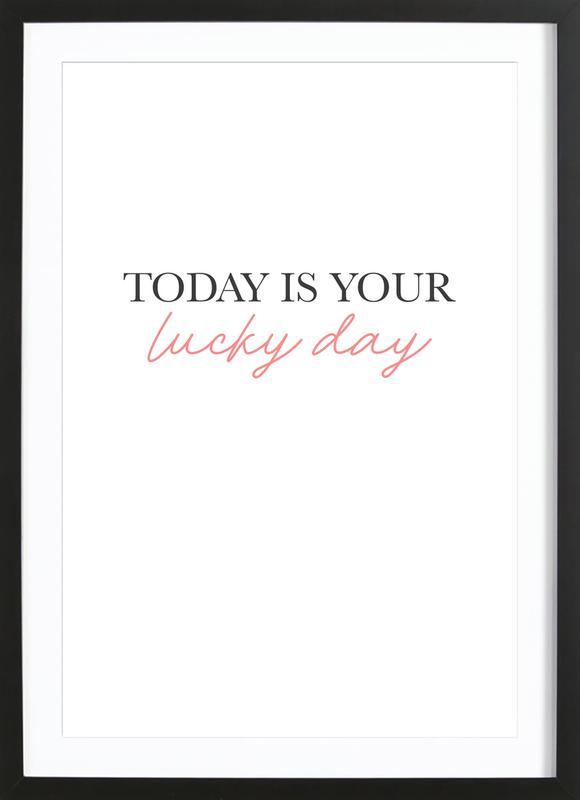 Lucky Day Framed Print