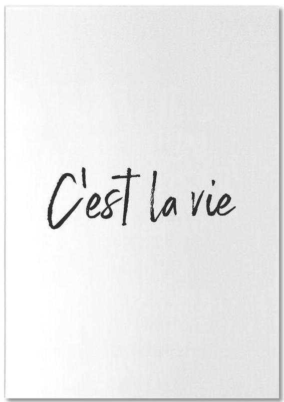 C'est La Vie Notepad