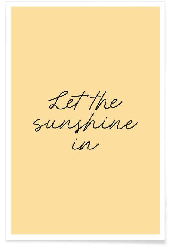 Let The Sunshine In poster