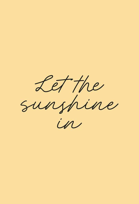 Let The Sunshine In -Alubild