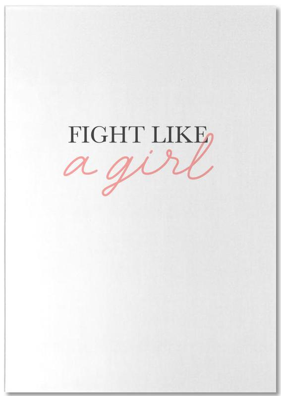 Fight Like A Girl Notepad