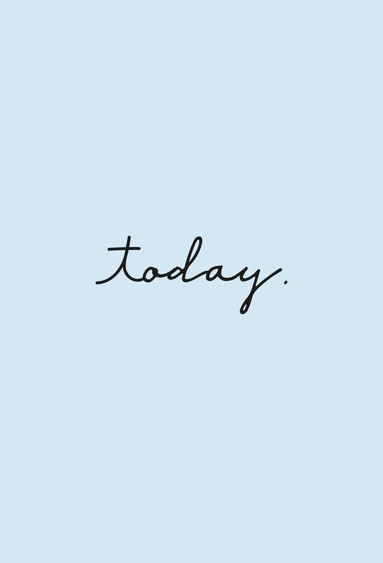 Today -Alubild