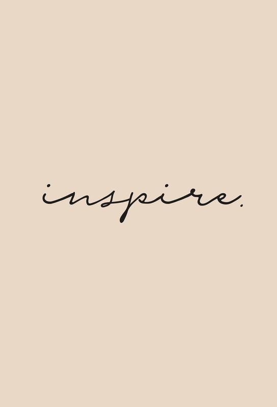 Inspire -Acrylglasbild