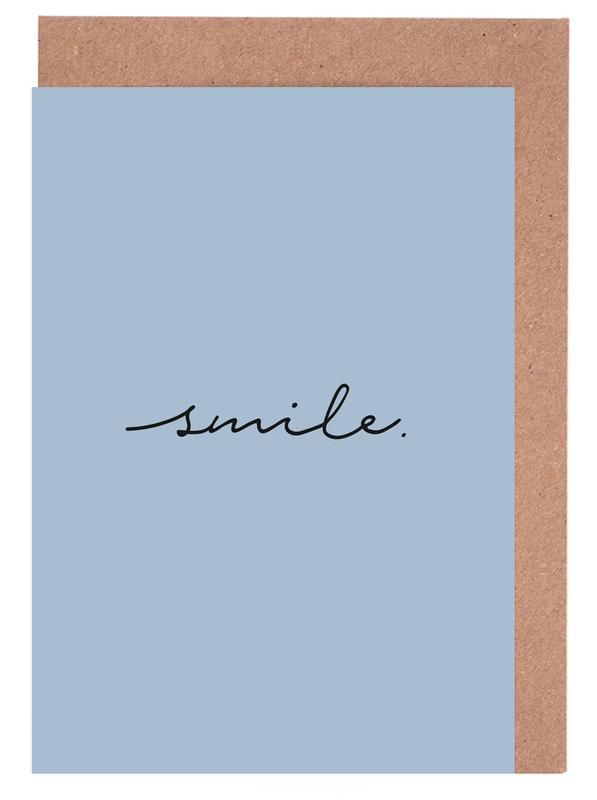 Smile Greeting Card Set