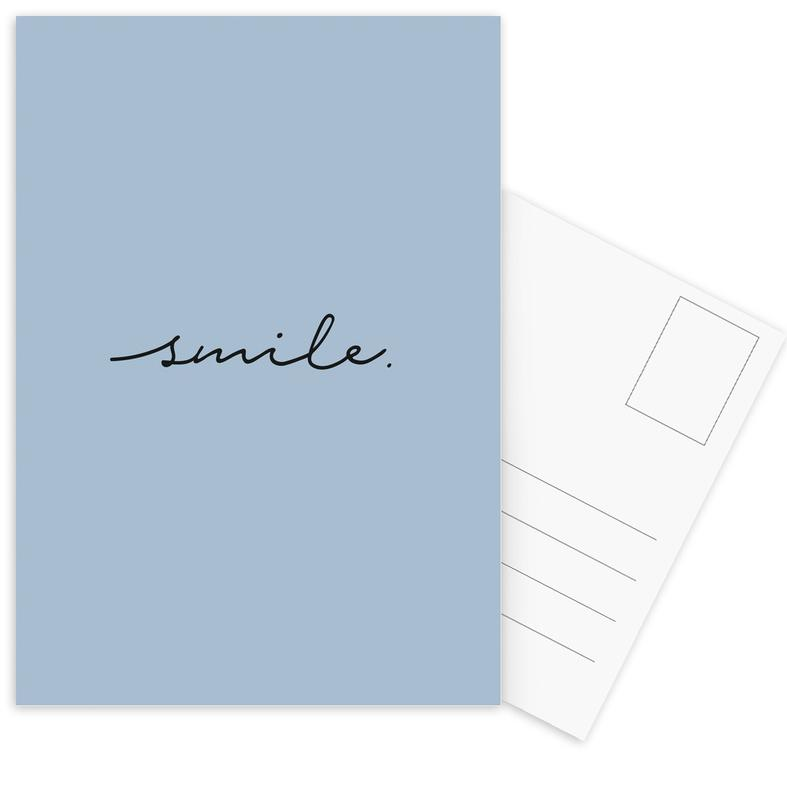 Smile -Postkartenset