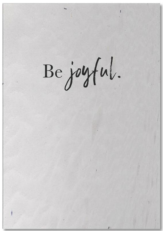 Be Joyful -Notizblock