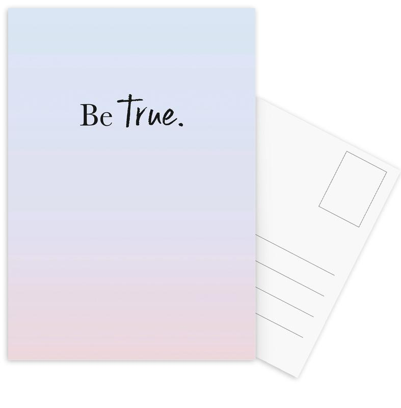Be True Postcard Set