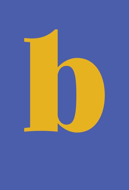 Blue Letter B Acrylic Print