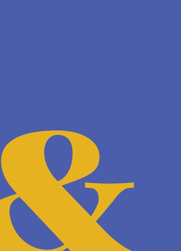 Blue Symbol & -Leinwandbild