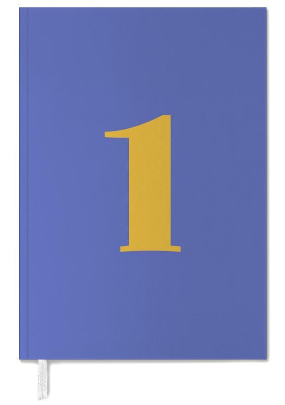 Blue Number 1 -Terminplaner
