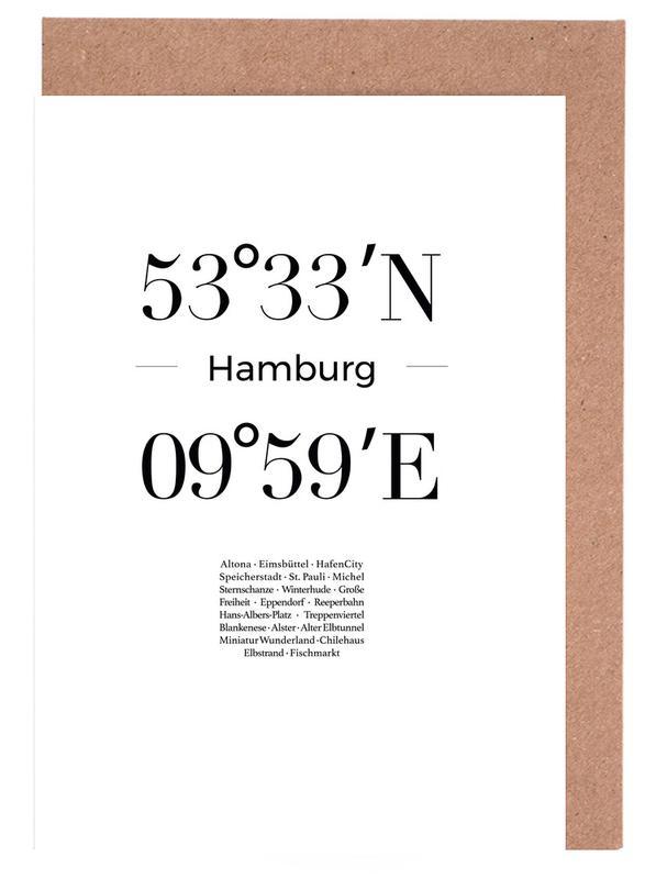 Hamburg Grußkartenset