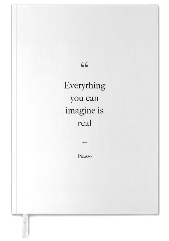 Everything You Can Imagine Is Real Personal Planner