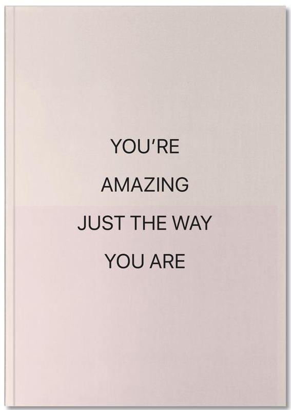 You're Amazing 01 Notebook