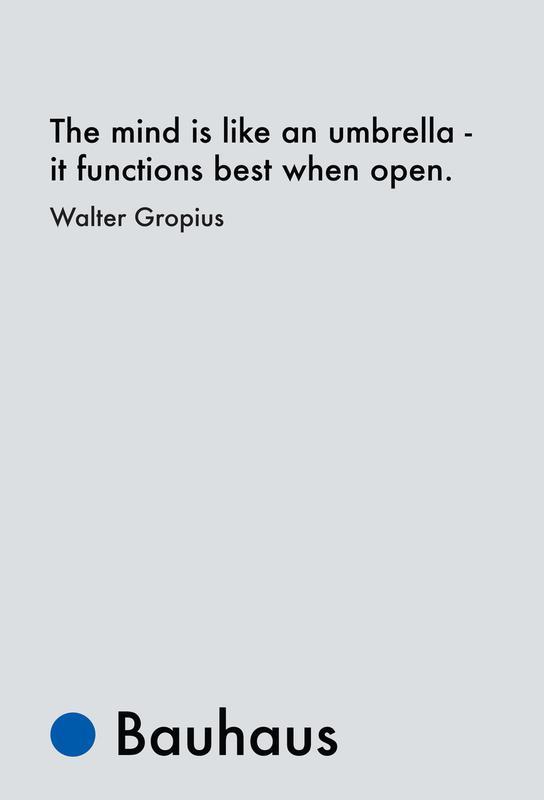 Gropius - Creativity -Alubild