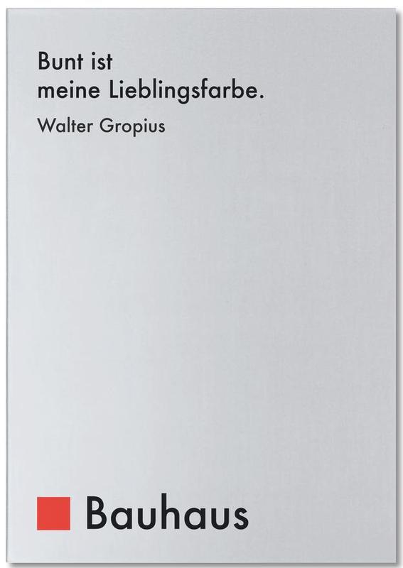 Gropius - Colourfulness Notepad