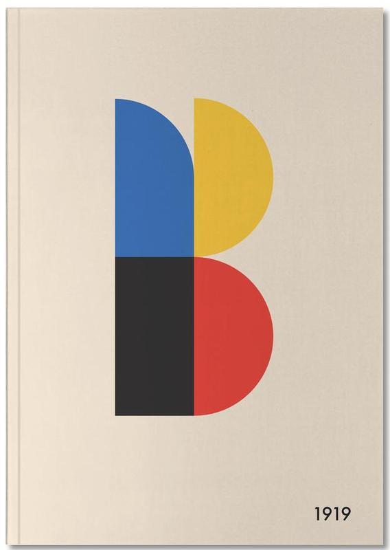 B for Bauhaus Notebook