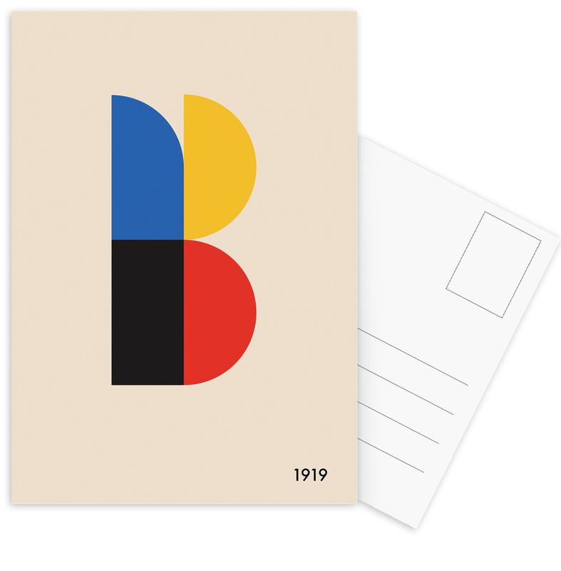 B for Bauhaus -Postkartenset