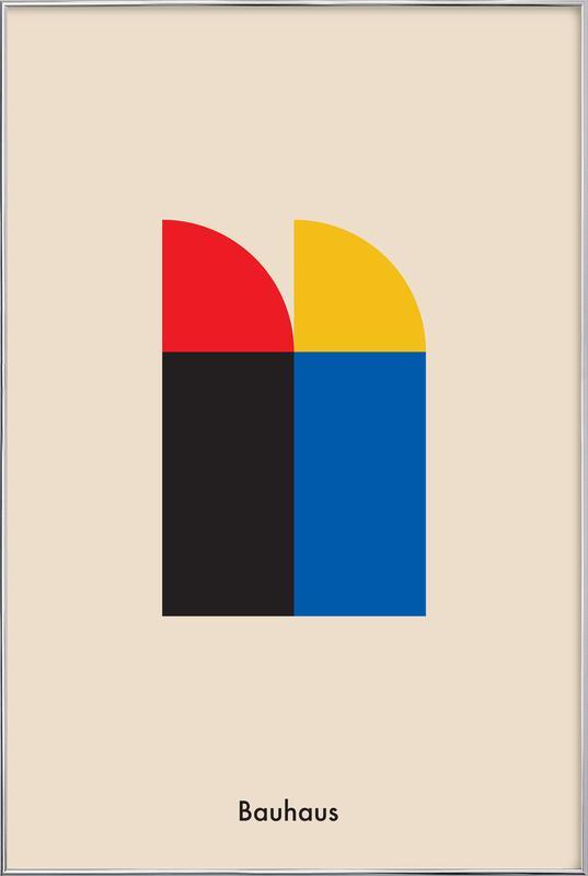 Bauhaus Archive Berlin -Poster im Alurahmen