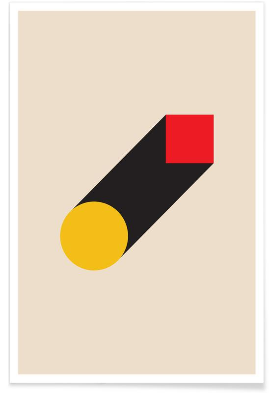 Geometric Illusion poster