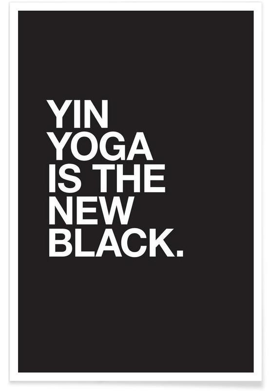 Yin Yoga póster