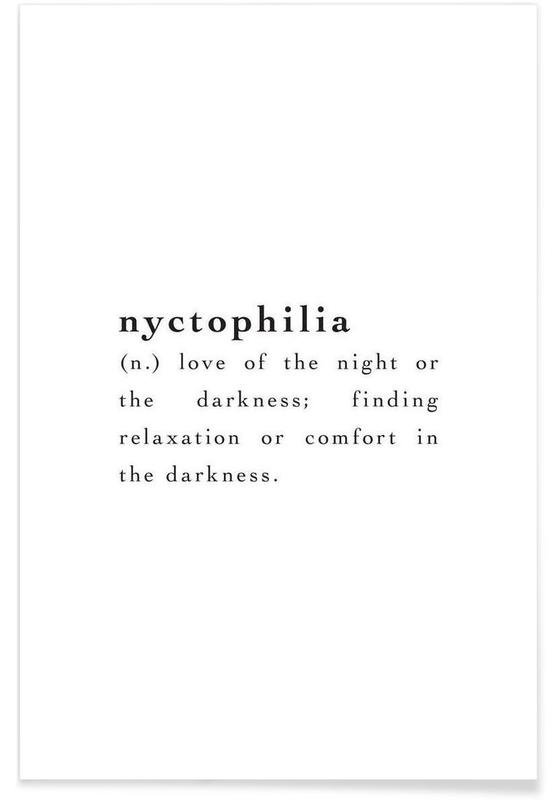 Nyctophilia Poster