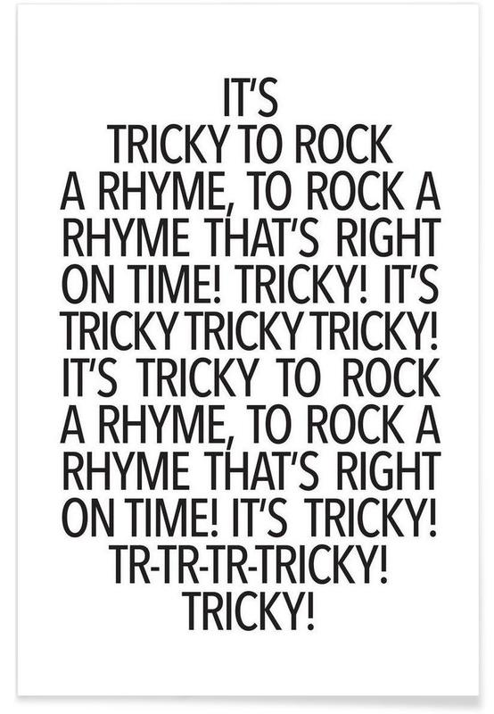 Rock a rhyme póster