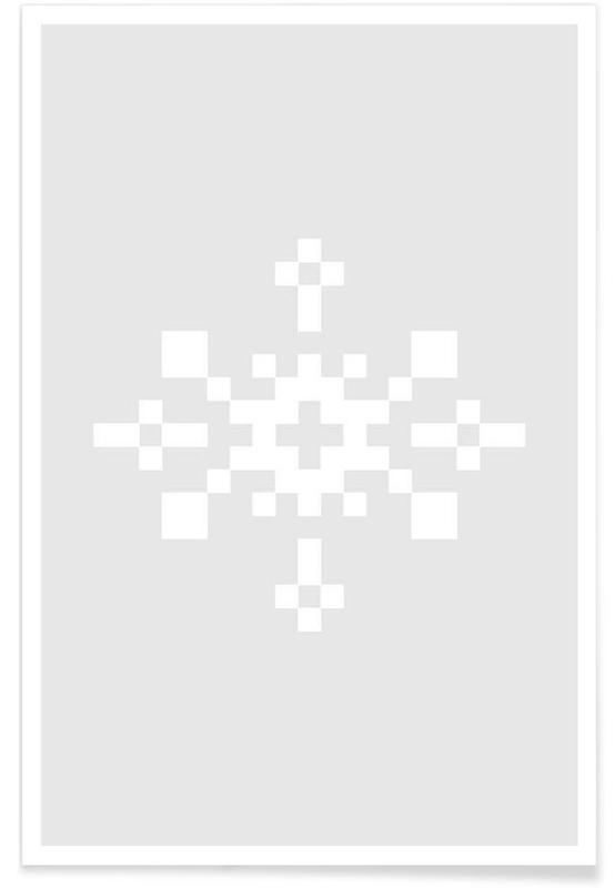 White Snowflake 1 poster