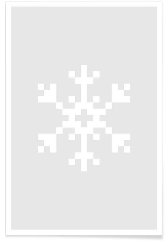 White Snowflake 2 poster