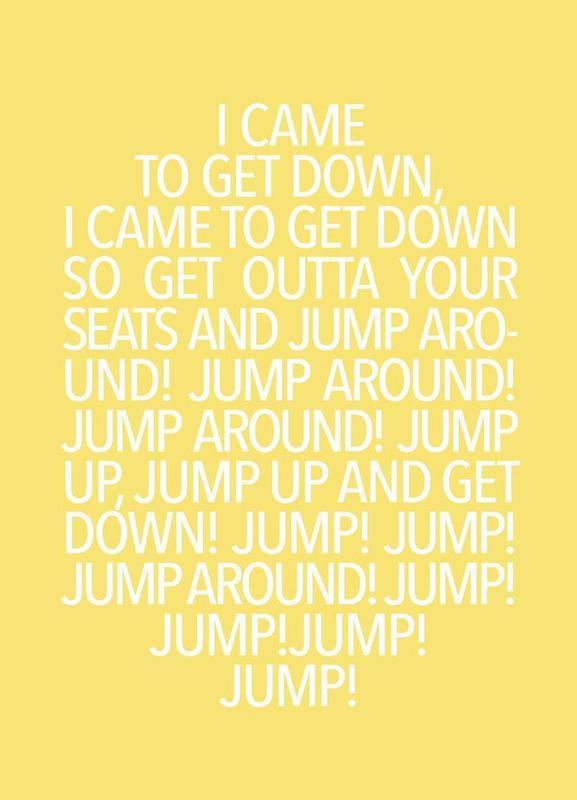 Jump Yellow Canvas Print