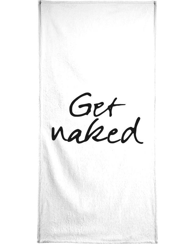 Get Naked -Handtuch