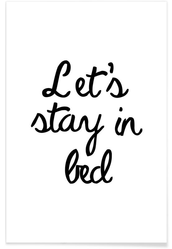 Let's Stay In Bed poster